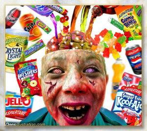 niños aspartame