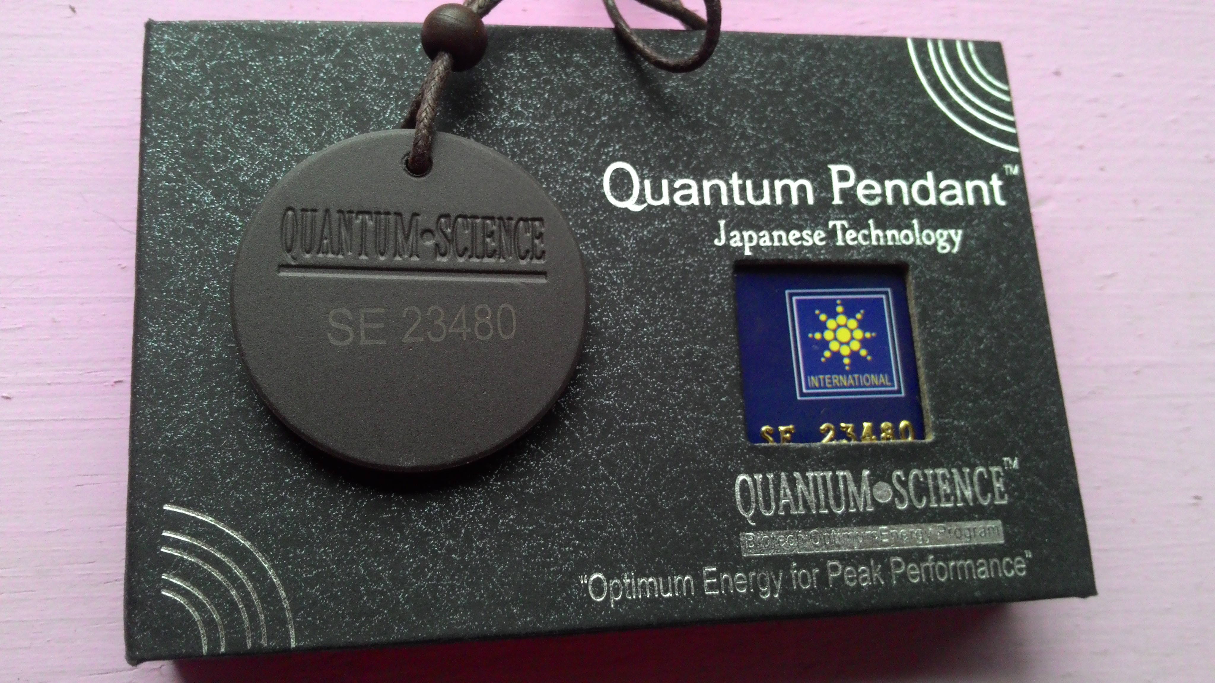 Medalla cuántica ionizada
